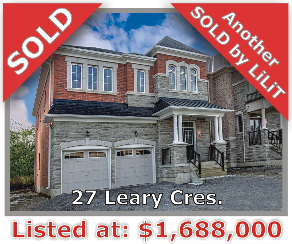 Main Photo: 27 Leary Crescent in Richmond Hill: Westbrook Freehold for sale