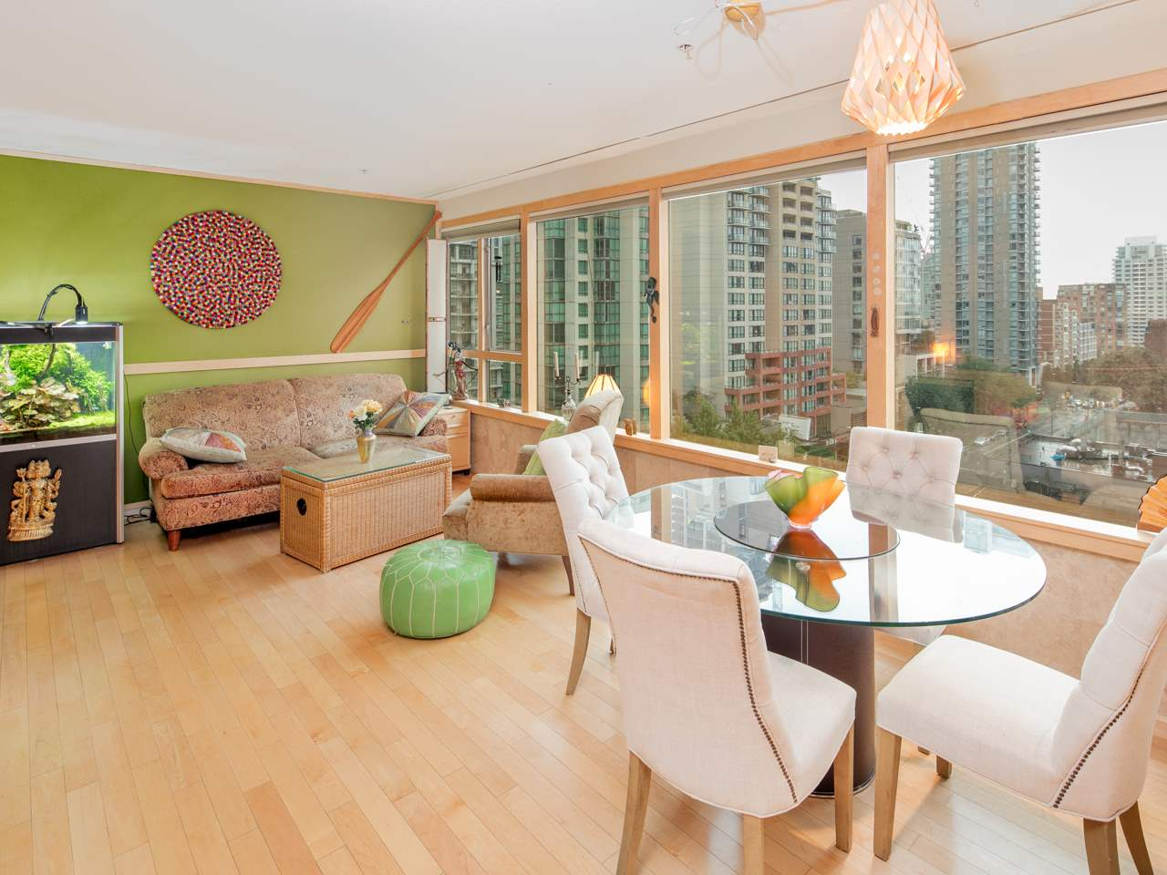 "Photo 5: 707 1177 HORNBY Street in Vancouver: Downtown VW Condo for sale in ""London Place"" (Vancouver West)  : MLS® # R2204274"