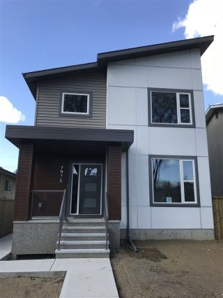 Main Photo: 7936 79 Avenue in Edmonton: Zone 17 House for sale : MLS®# E4111155