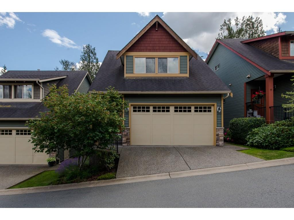 "Main Photo: 8 36169 LOWER SUMAS MTN Road in Abbotsford: Abbotsford East Townhouse for sale in ""Junction Creek"" : MLS®# R2283767"