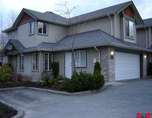 Main Photo: 33 3270 BLUE JAY ST in Abbotsford: Abbotsford West Townhouse for sale : MLS® # F2605900