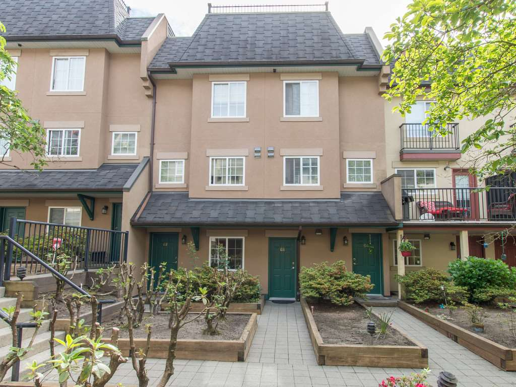 Main Photo: 66 1561 BOOTH Avenue in Coquitlam: Maillardville Townhouse for sale : MLS®# R2067726