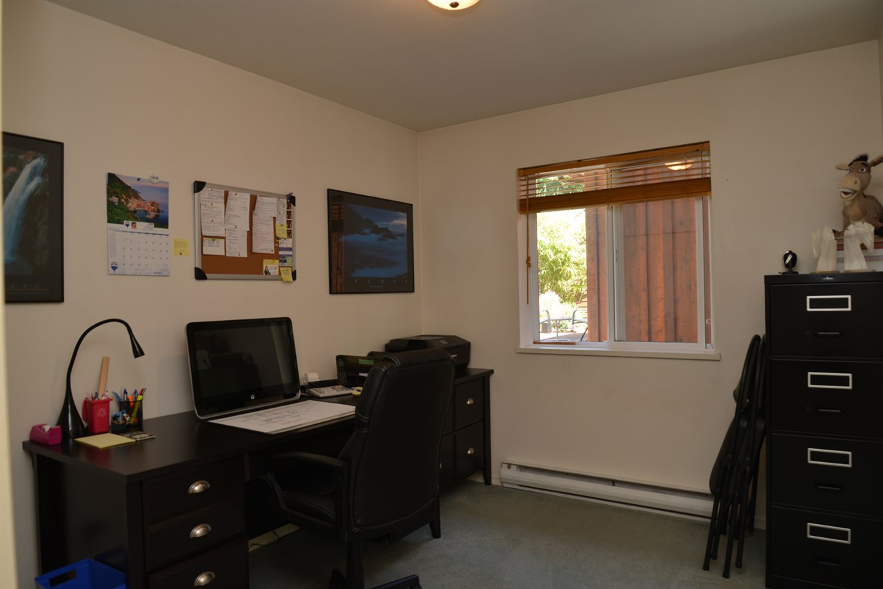 Bedroom on main floor is currently being used as an office; option as a master bedroom on the main.