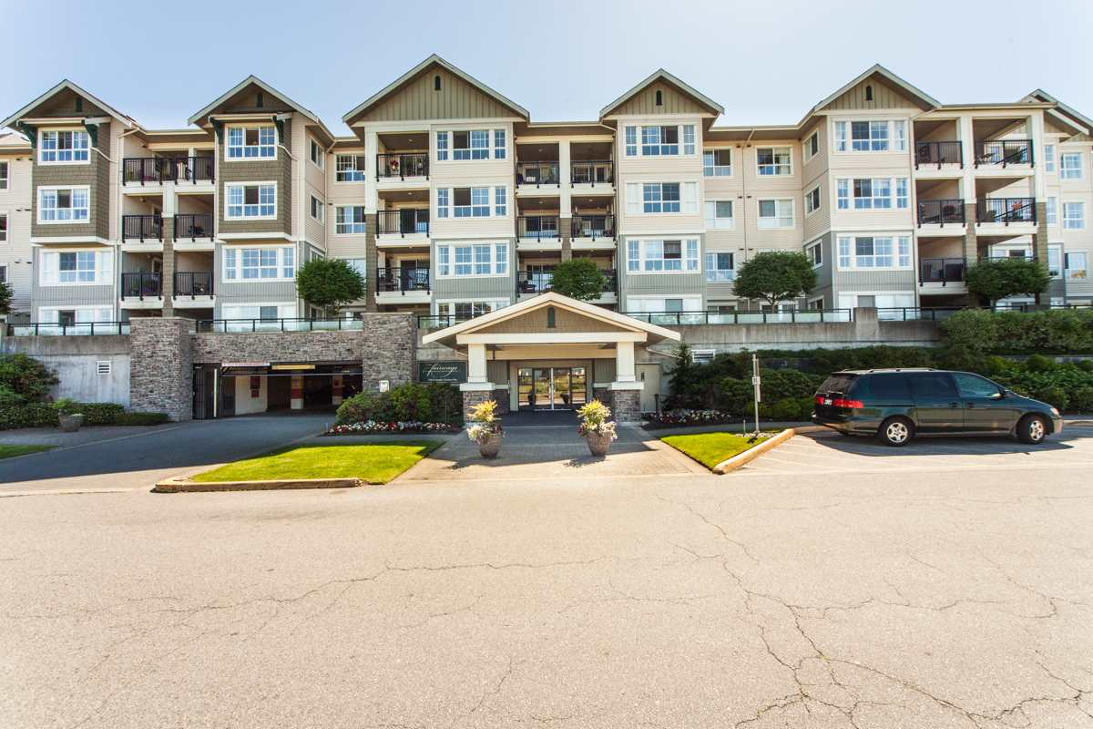 "Main Photo: 315 19673 MEADOW GARDENS Way in Pitt Meadows: North Meadows PI Condo for sale in ""THE FAIRWAYS"" : MLS®# R2134448"