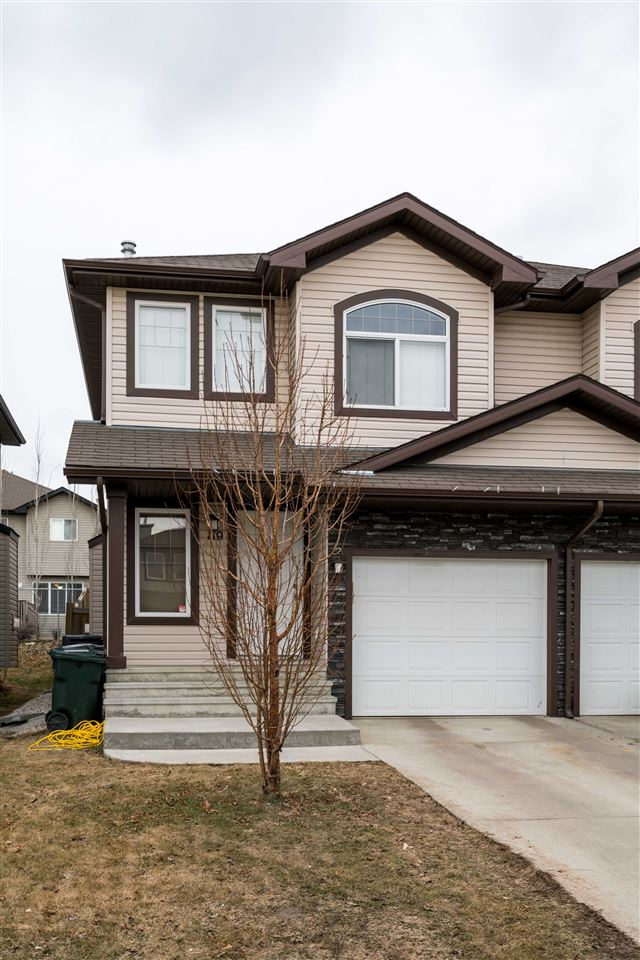 Main Photo: 119 MERIDIAN Loop: Stony Plain House Half Duplex for sale : MLS® # E4059249