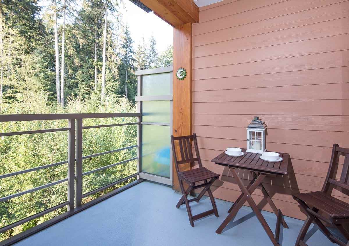 "Main Photo: 404 3606 ALDERCREST Drive in North Vancouver: Roche Point Condo for sale in ""DESTINY AT RAVEN WOODS"" : MLS®# R2200535"