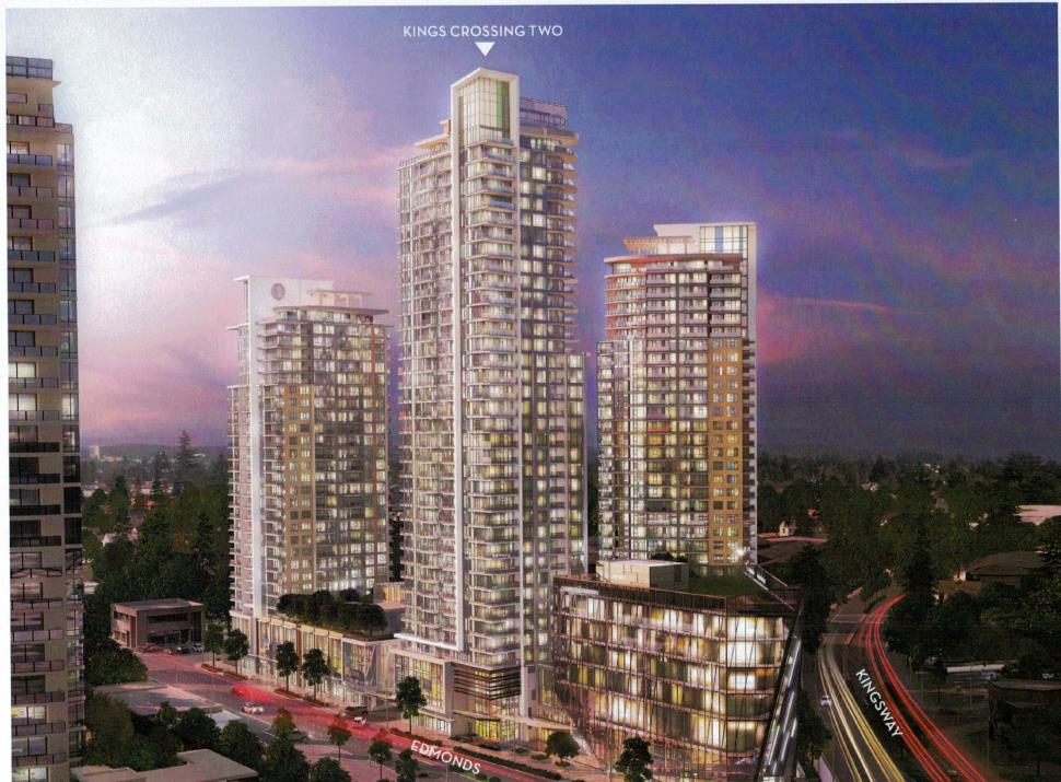 "Main Photo: 805 7388 KINGSWAY in Burnaby: Edmonds BE Condo for sale in ""KINGSCROSSING I"" (Burnaby East)  : MLS® # R2201177"