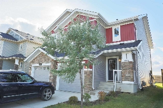 Main Photo: 4536 ALWOOD Way in Edmonton: Zone 55 House Half Duplex for sale : MLS® # E4083906