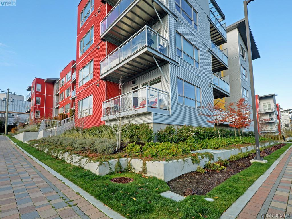 Main Photo: 108 785 Tyee Road in VICTORIA: VW Victoria West Condo Apartment for sale (Victoria West)  : MLS® # 385034