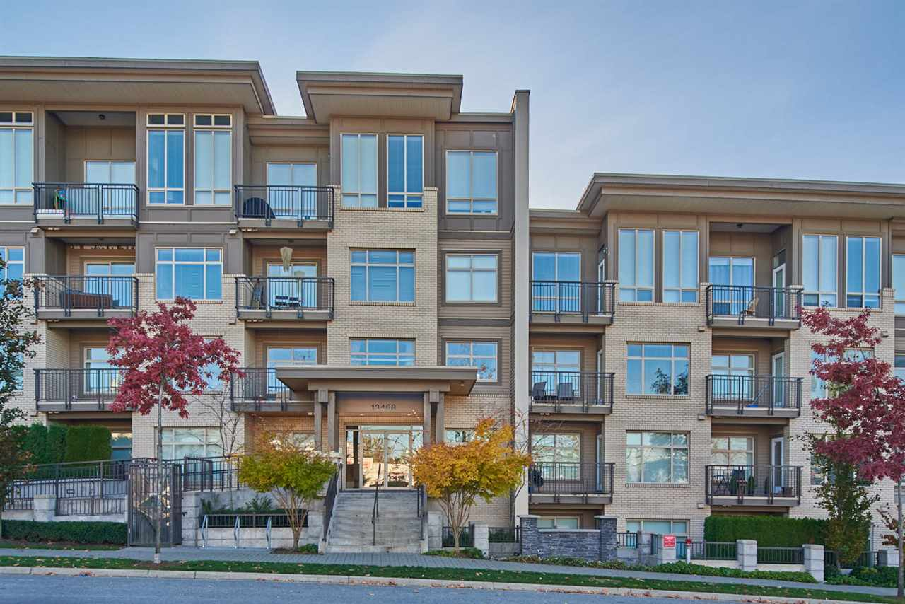Main Photo: 103 13468 KING GEORGE Boulevard in Surrey: Whalley Condo for sale (North Surrey)  : MLS® # R2219915