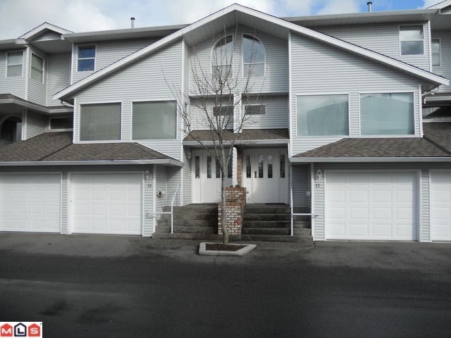 "Main Photo: 23 16363 85TH Avenue in Surrey: Fleetwood Tynehead Townhouse for sale in ""SOMERSET LANE"" : MLS® # F1116278"