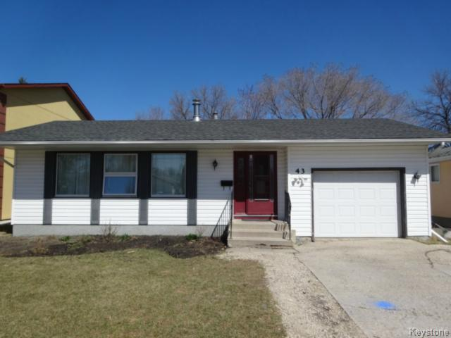 Main Photo: 43 Kingshead Close in WINNIPEG: Charleswood Residential for sale (South Winnipeg)  : MLS® # 1511523