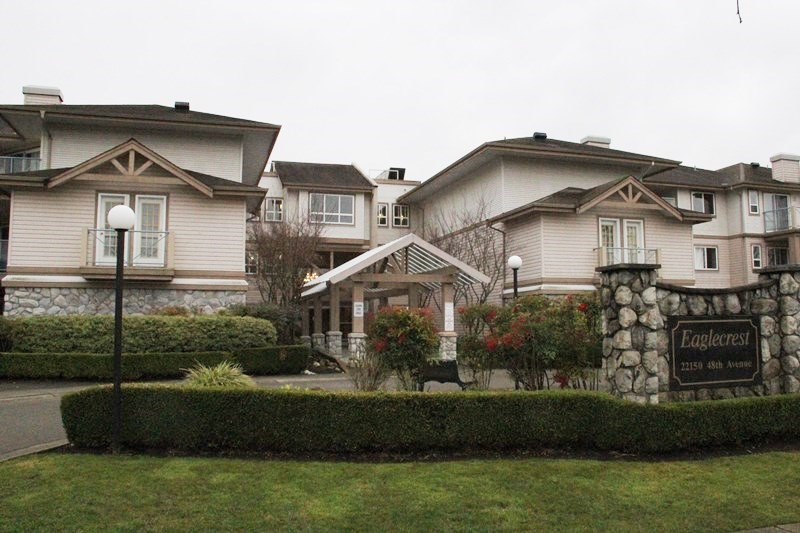 "Main Photo: 324 22150 48 Avenue in Langley: Murrayville Condo for sale in ""EagleCrest"" : MLS® # R2033056"