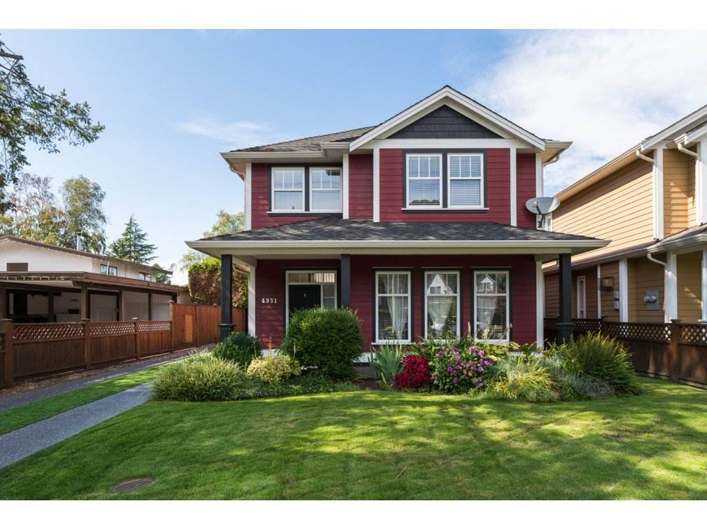 "Main Photo: 4931 CENTRAL Avenue in Delta: Hawthorne House for sale in ""HAWTHORNE"" (Ladner)  : MLS(r) # R2104620"