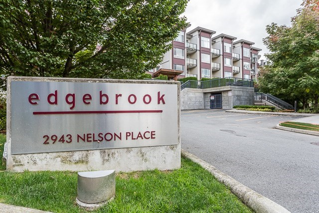 "Main Photo: 416 2943 NELSON Place in Abbotsford: Central Abbotsford Condo for sale in ""Edgebrook"" : MLS®# R2122396"