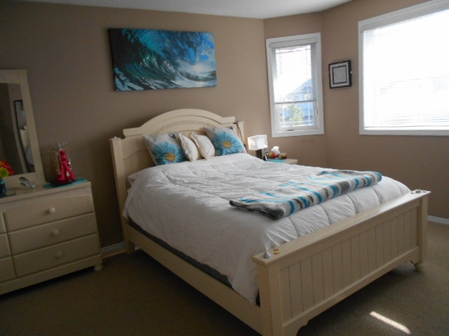"Lovely Master Bedroom is 14'9""x12'10"" & will accomodate that King Size Bed"