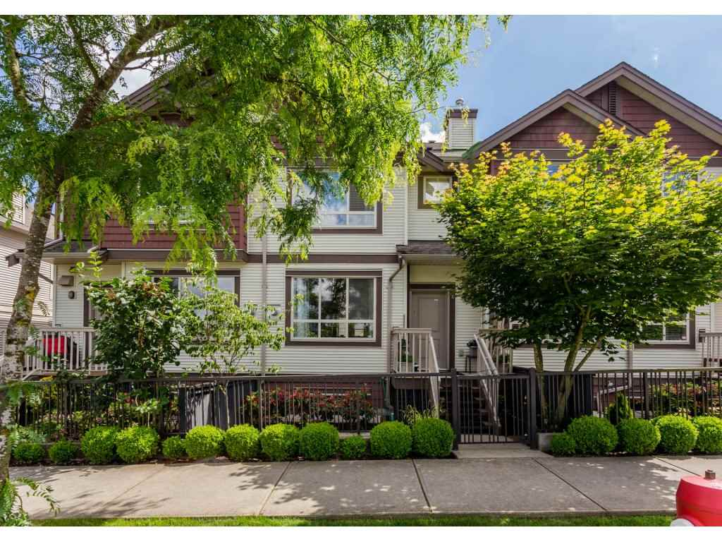 "Main Photo: 8 19560 68TH Avenue in Surrey: Clayton Townhouse for sale in ""SOLANA"" (Cloverdale)  : MLS®# R2179592"