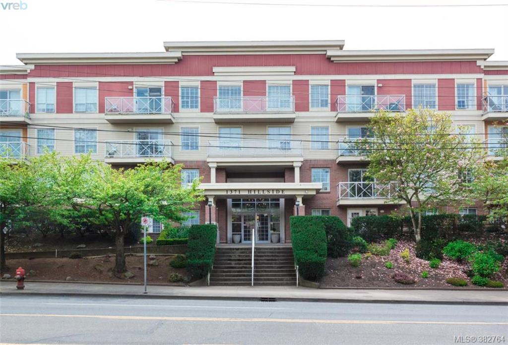 Main Photo: 107 1371 Hillside Avenue in VICTORIA: Vi Oaklands Condo Apartment for sale (Victoria)  : MLS®# 382764