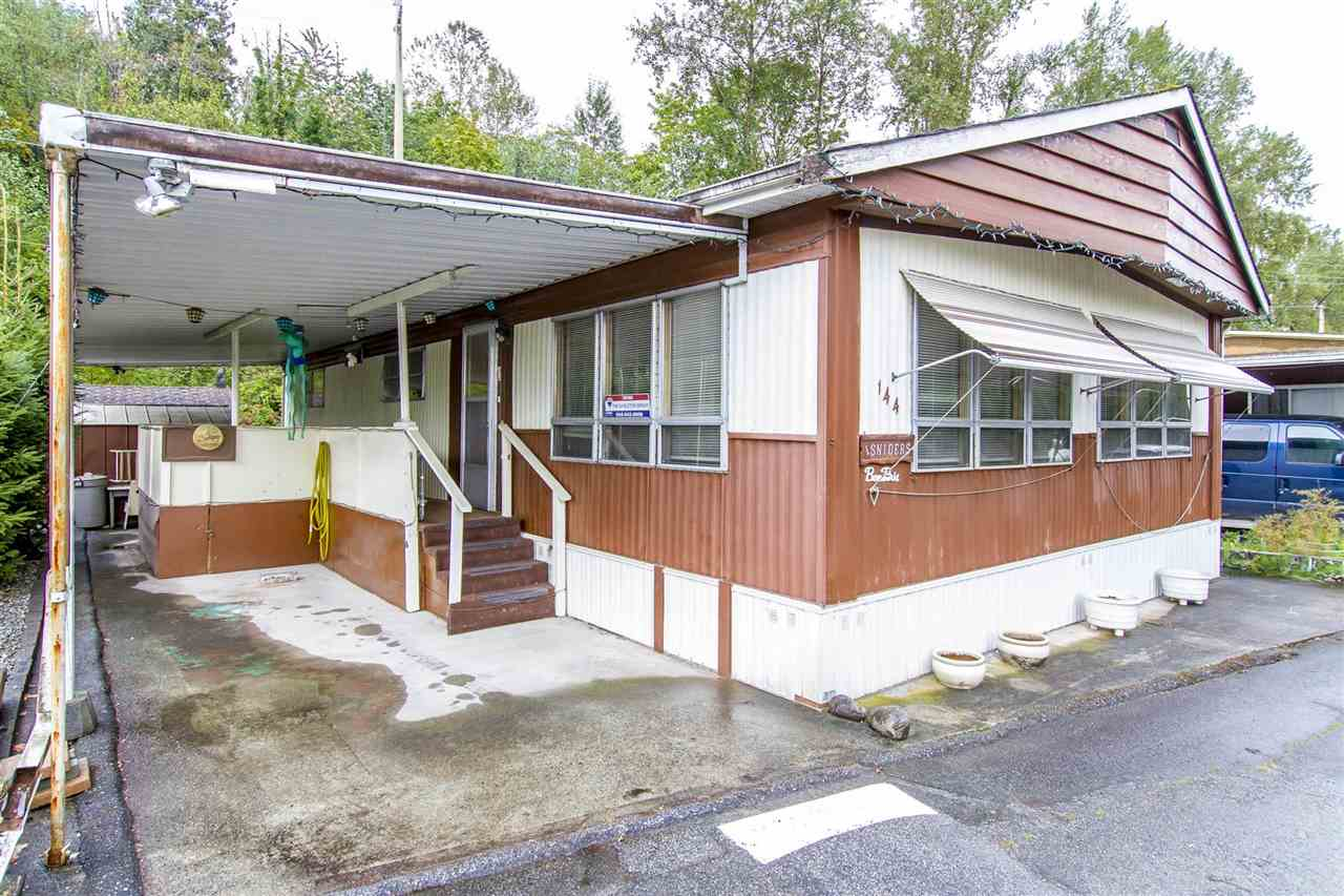 144 201 CAYER Street In Coquitlam Maillardville Manufactured Home For Sale WILDWOOD PARK MLSR R2205175