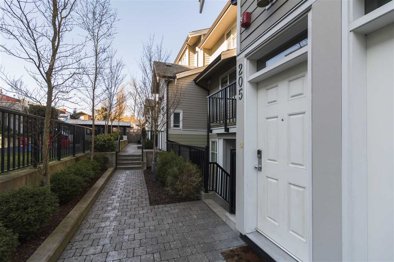 "Main Photo: 205 3788 NORFOLK Street in Burnaby: Central BN Townhouse for sale in ""Panacasa"" (Burnaby North)  : MLS®# R2239657"