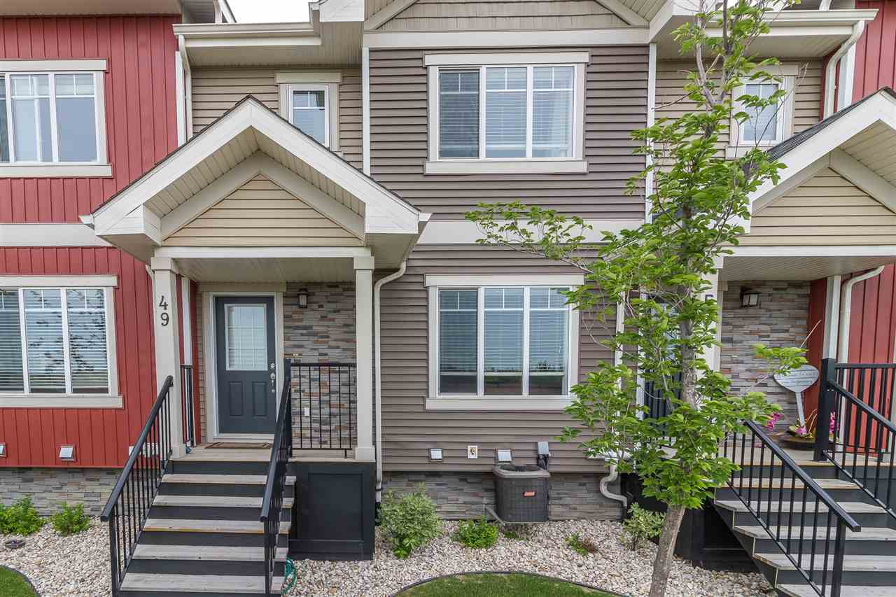 Main Photo: 49 675 ALBANY Way in Edmonton: Zone 27 Townhouse for sale : MLS®# E4120143