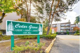 "Main Photo: 108 15288 100 Avenue in Surrey: Guildford Condo for sale in ""CEDAR GROVE"" (North Surrey)  : MLS®# R2309847"