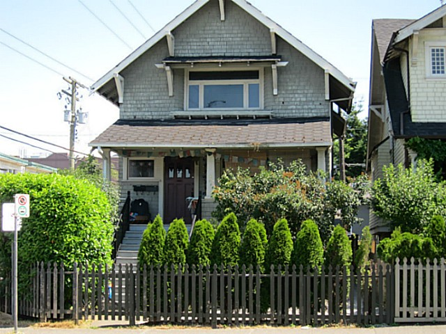 Main Photo: 2026 MACDONALD Street in Vancouver: Kitsilano House for sale (Vancouver West)  : MLS® # V1130765