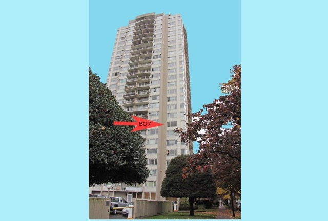 "Main Photo: 807 1850 COMOX Street in Vancouver: West End VW Condo for sale in ""The El Cid"" (Vancouver West)  : MLS(r) # R2012398"