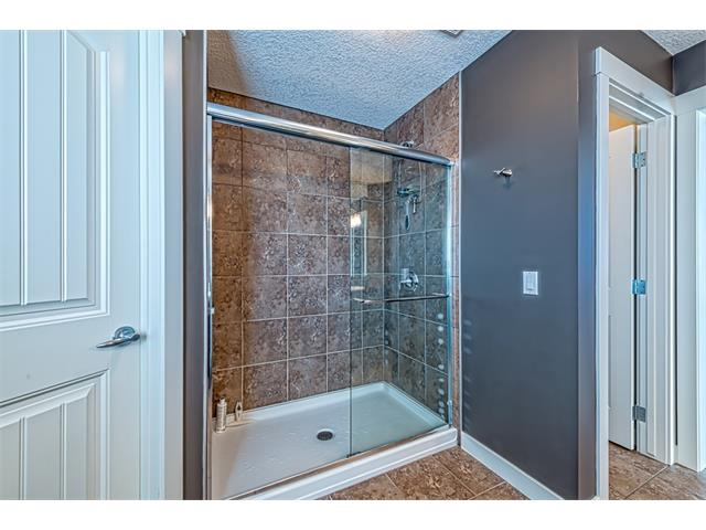 Oversized separate walk-in shower.