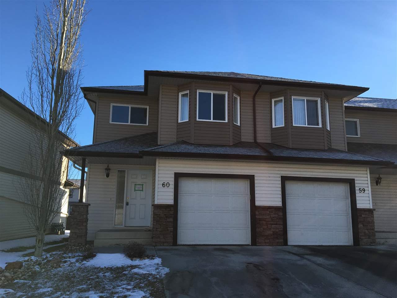 Main Photo: 60 171 BRINTNELL Boulevard in Edmonton: Zone 03 Townhouse for sale : MLS(r) # E4049409