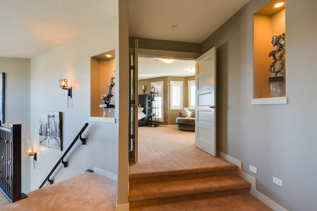 THE UPPER LEVEL OFFER A HUGE DREAM MASTER-BEDROOM, FOUR PIECE BATH, LAUNDRY ROOM AND ANOTHER FULL BATH.
