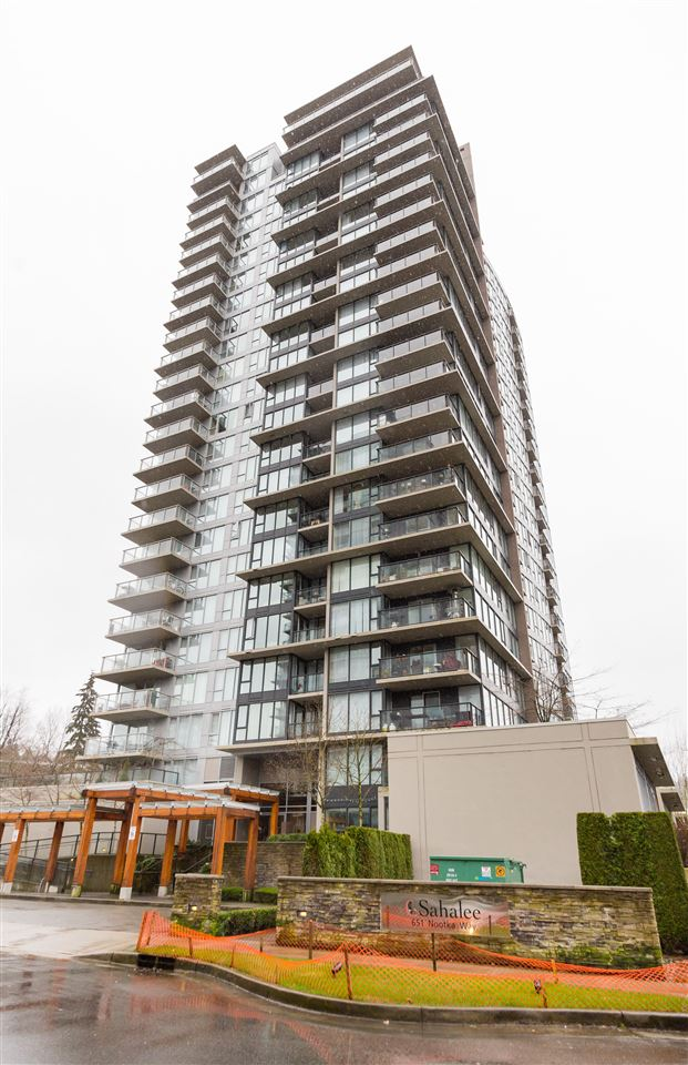 "Main Photo: 1808 651 NOOTKA Way in Port Moody: Port Moody Centre Condo for sale in ""SAHALEE"" : MLS® # R2149794"