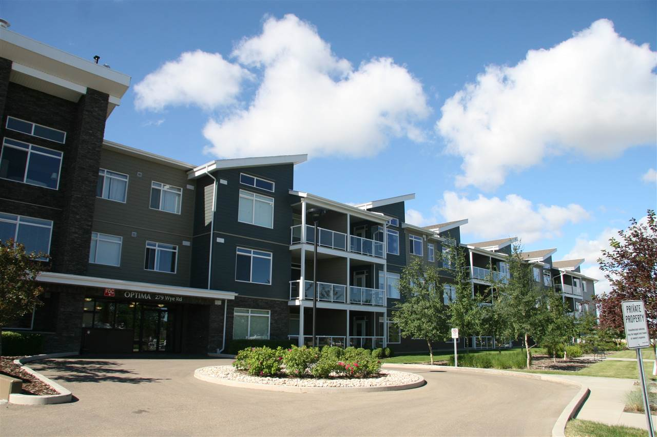 Main Photo: 103 279 WYE Road: Sherwood Park Condo for sale : MLS(r) # E4071030