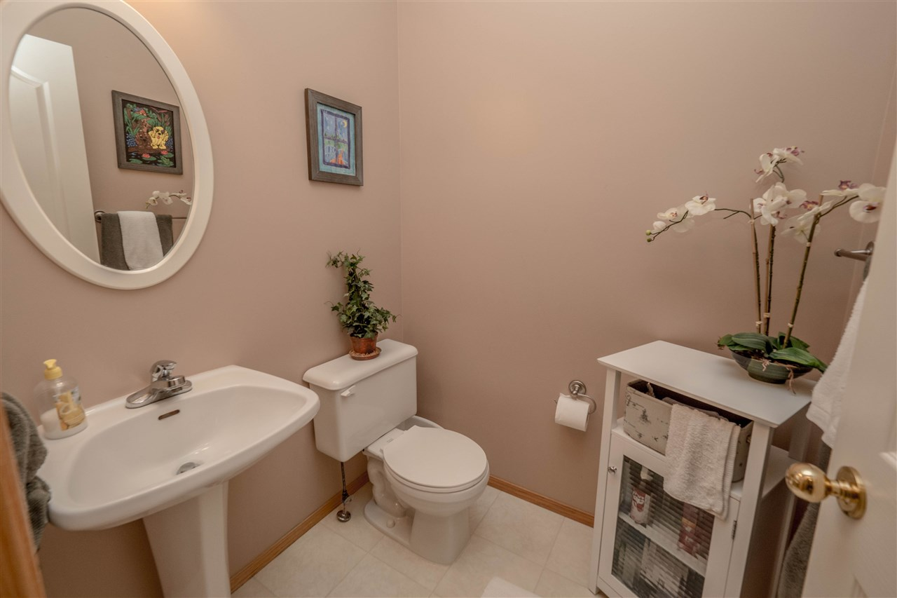Main floor powder room.