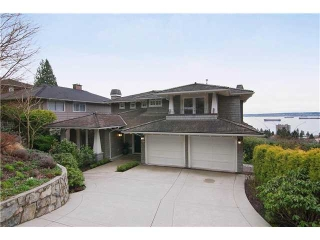Main Photo: 2320 OTTAWA Avenue in West Vancouver: Dundarave House for sale : MLS(r) # V878350