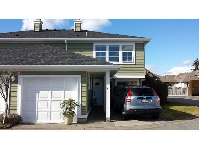"Main Photo: 49 8428 VENTURE Way in Surrey: Fleetwood Tynehead Townhouse for sale in ""Summerwood"" : MLS® # F1403367"