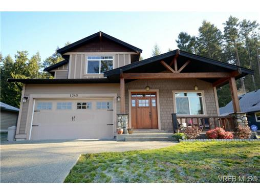 Main Photo: 1340 Bonner Crescent in COBBLE HILL: ML Cobble Hill Single Family Detached for sale (Malahat & Area)  : MLS®# 358460