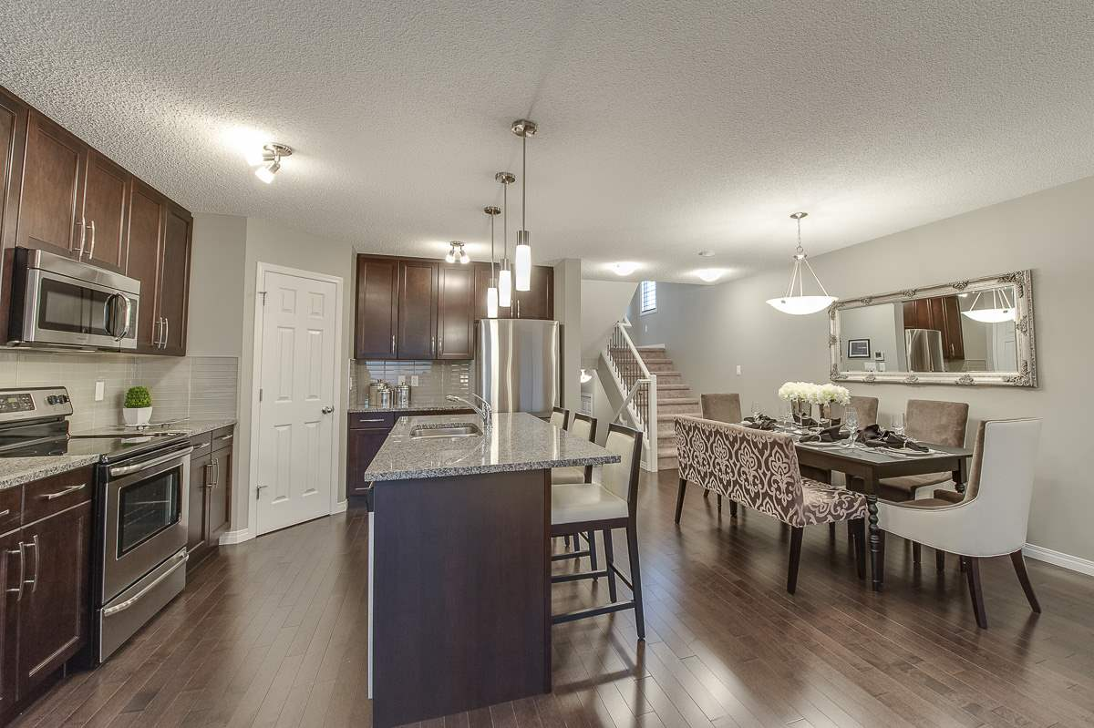 Main Photo: 5234 Crabapple Link in Edmonton: Zone 53 House Half Duplex for sale : MLS(r) # E4068527