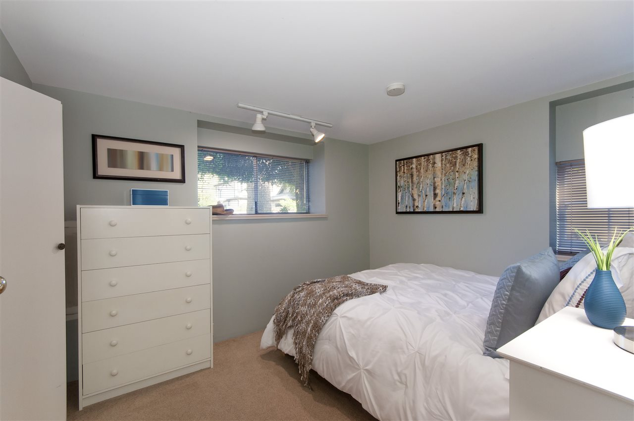 The suite offers an inviting bedroom that has windows above grade so it does not feel like you are in a basement which helps with the livability and rent ability.
