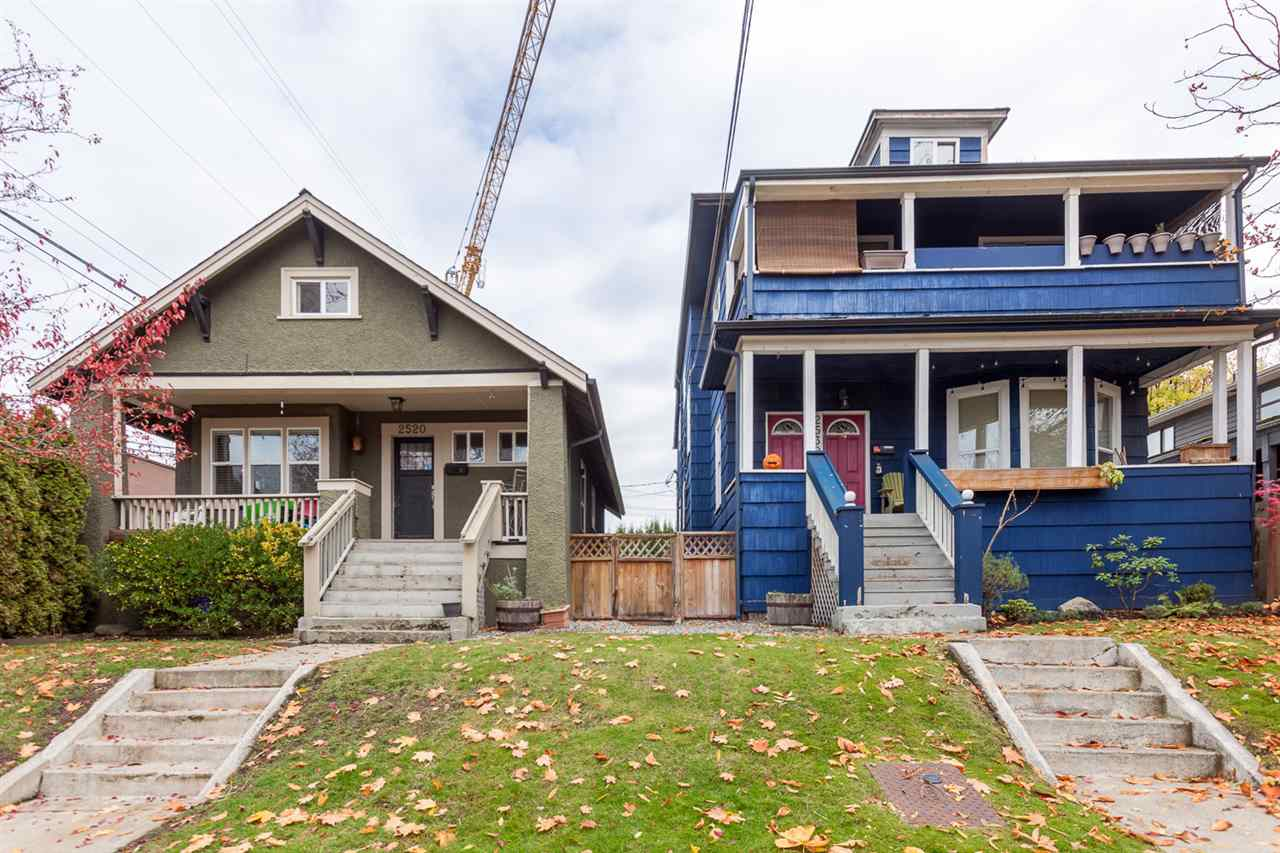 Main Photo: 2520 - 2530 CAROLINA Street in Vancouver: Mount Pleasant VE House for sale (Vancouver East)  : MLS®# R2220566
