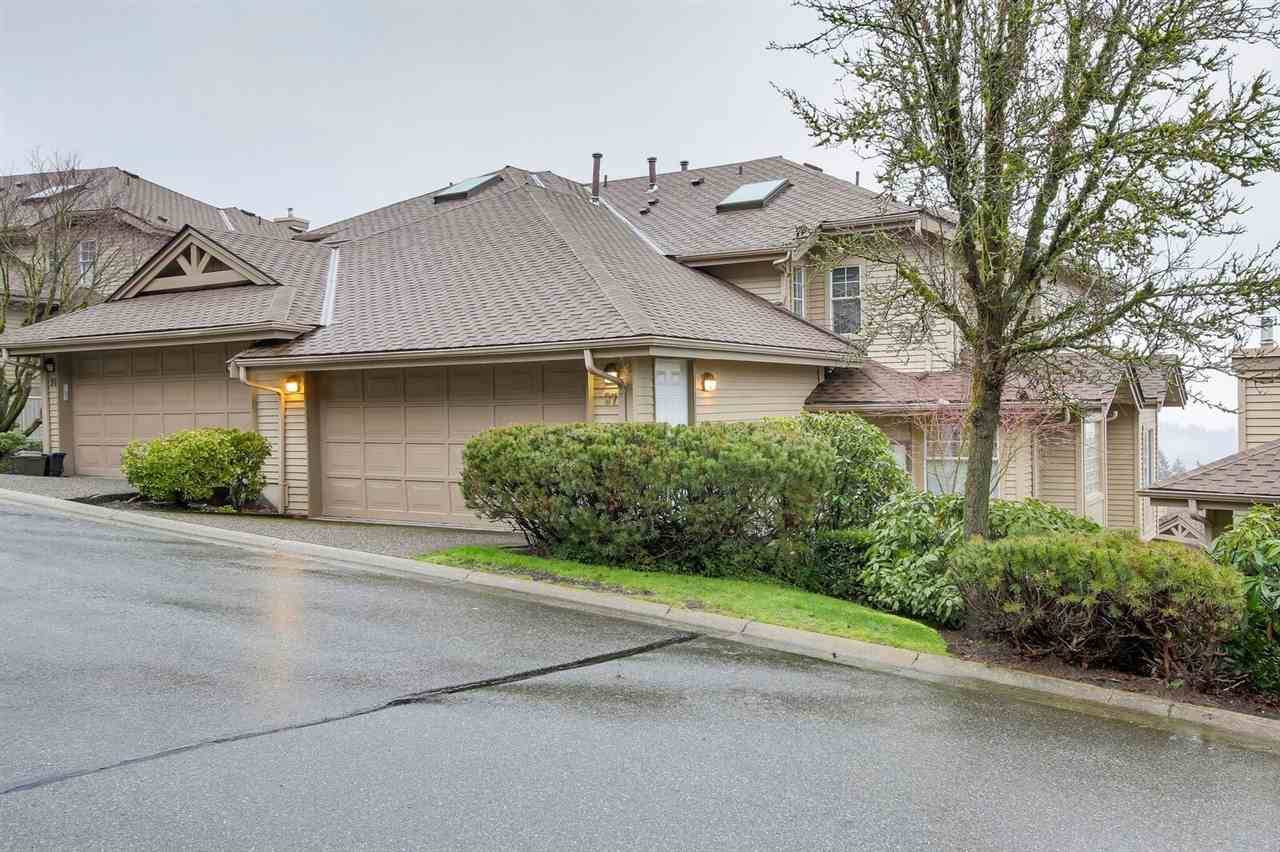 "Main Photo: 37 2979 PANORAMA Drive in Coquitlam: Westwood Plateau Townhouse for sale in ""DEERCREST"" : MLS®# R2238055"