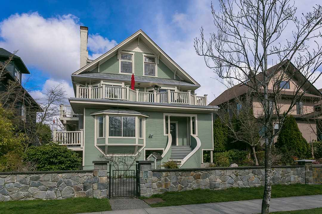Main Photo: 1 335 W 13TH Avenue in Vancouver: Mount Pleasant VW Townhouse for sale (Vancouver West)  : MLS®# R2254668