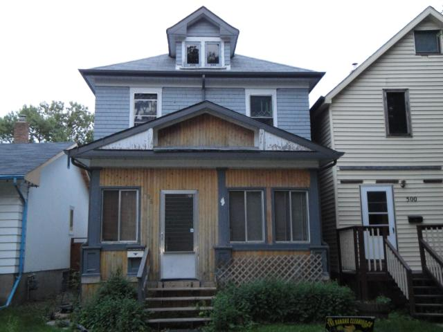 Main Photo: 498 Rosedale Avenue in WINNIPEG: Manitoba Other Residential for sale : MLS(r) # 1113025