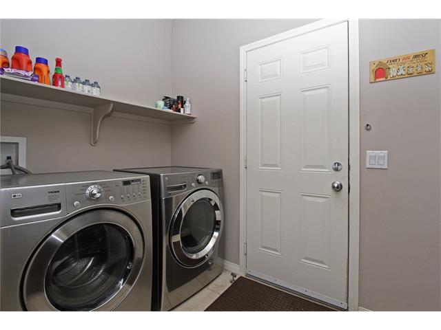 Main floor laundry