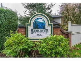 "Main Photo: 51 36060 OLD YALE Road in Abbotsford: Abbotsford East Townhouse for sale in ""MOUNTAIN VIEW VILLAGE"" : MLS® # R2156843"