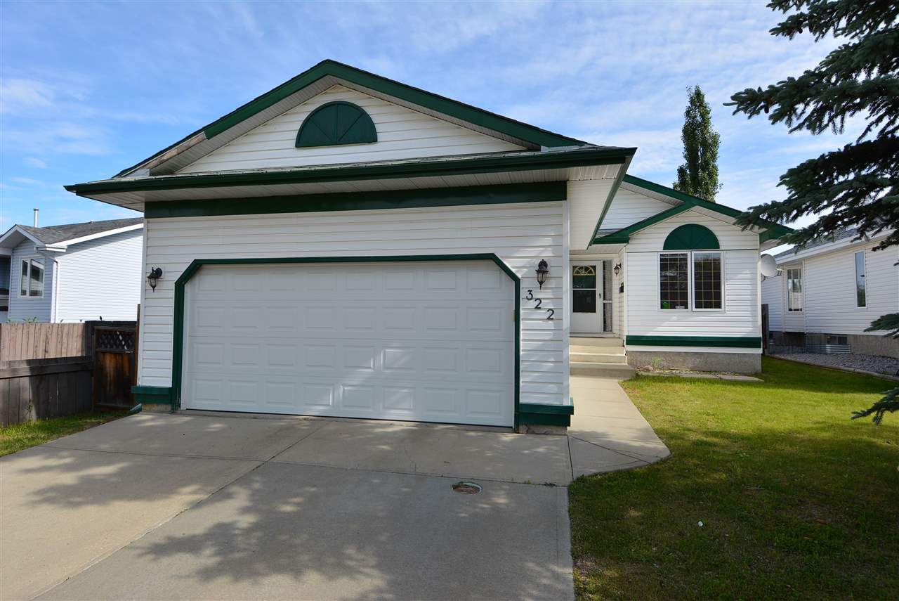 Main Photo: 322 REGENCY Drive: Sherwood Park House for sale : MLS(r) # E4069885