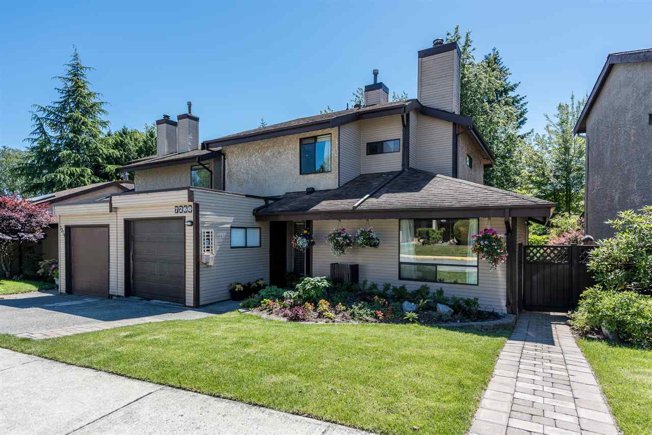Main Photo: 7260 CAMANO Street in Vancouver: Champlain Heights Townhouse for sale (Vancouver East)  : MLS(r) # R2181036