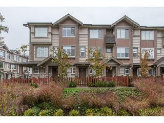 "Main Photo: 104 10151 240 Street in Maple Ridge: Albion Townhouse for sale in ""ALBION STATION"" : MLS® # R2215867"