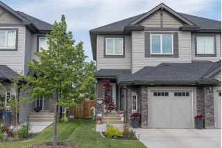 Main Photo: 1206 162 Street in Edmonton: Zone 56 House Half Duplex for sale : MLS®# E4116236