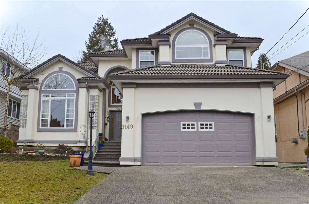 "Main Photo: 1149 ROCHESTER Avenue in Coquitlam: Central Coquitlam House for sale in ""CENTRAL COQUITLAM"" : MLS® # R2025136"
